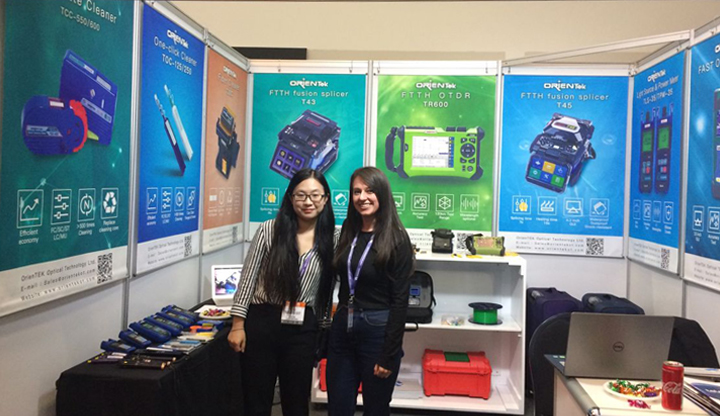 Orientek 21st Edition of AfricaCom Expo Ended Suessfully