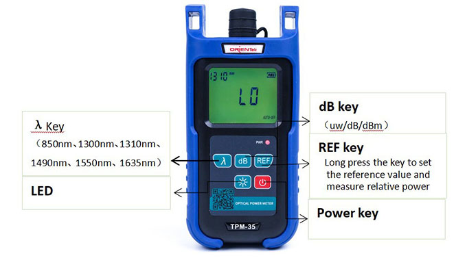 Orientek TPM-35 power meter