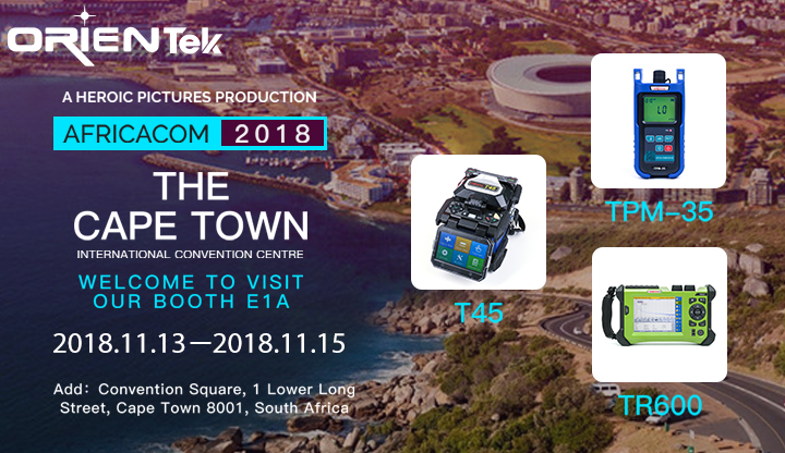 AFRICACOM South Africa 2018 Expo. Invitation